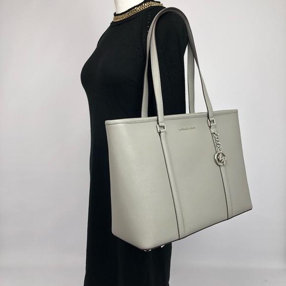 84396f61bbe9b7 Michael Kors Bags | Sady Large Tote Laptop Bag Grey New | Poshmark